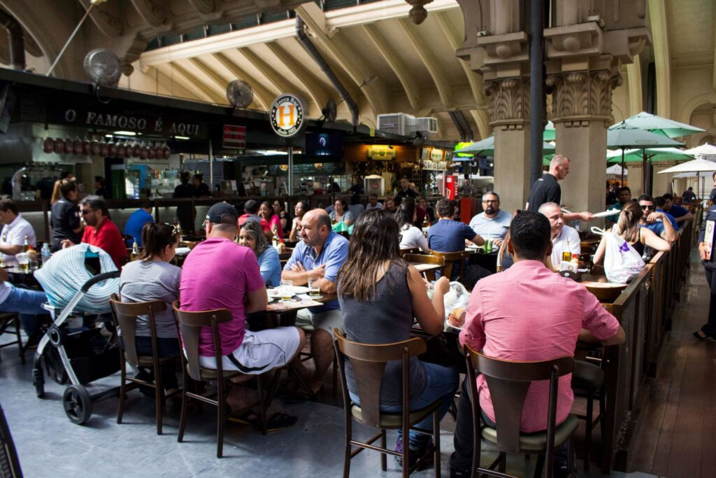 Municipal´s market food court tour sao paulo