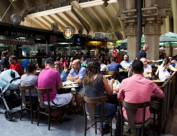 Municipal´s market food court tour sao paulo