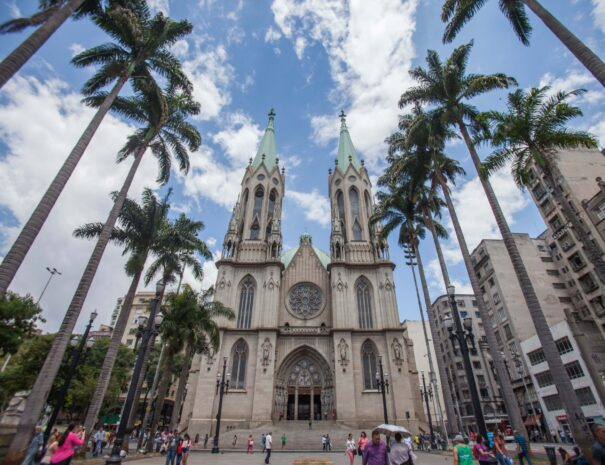 Sé Cathedral Tour in Sao paulo