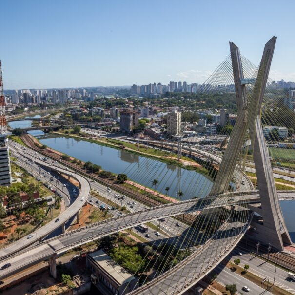 Sao Paulo Tour Suspension bridge - Brooklyn