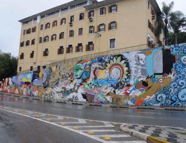 Street Art Mural Sao Paulo