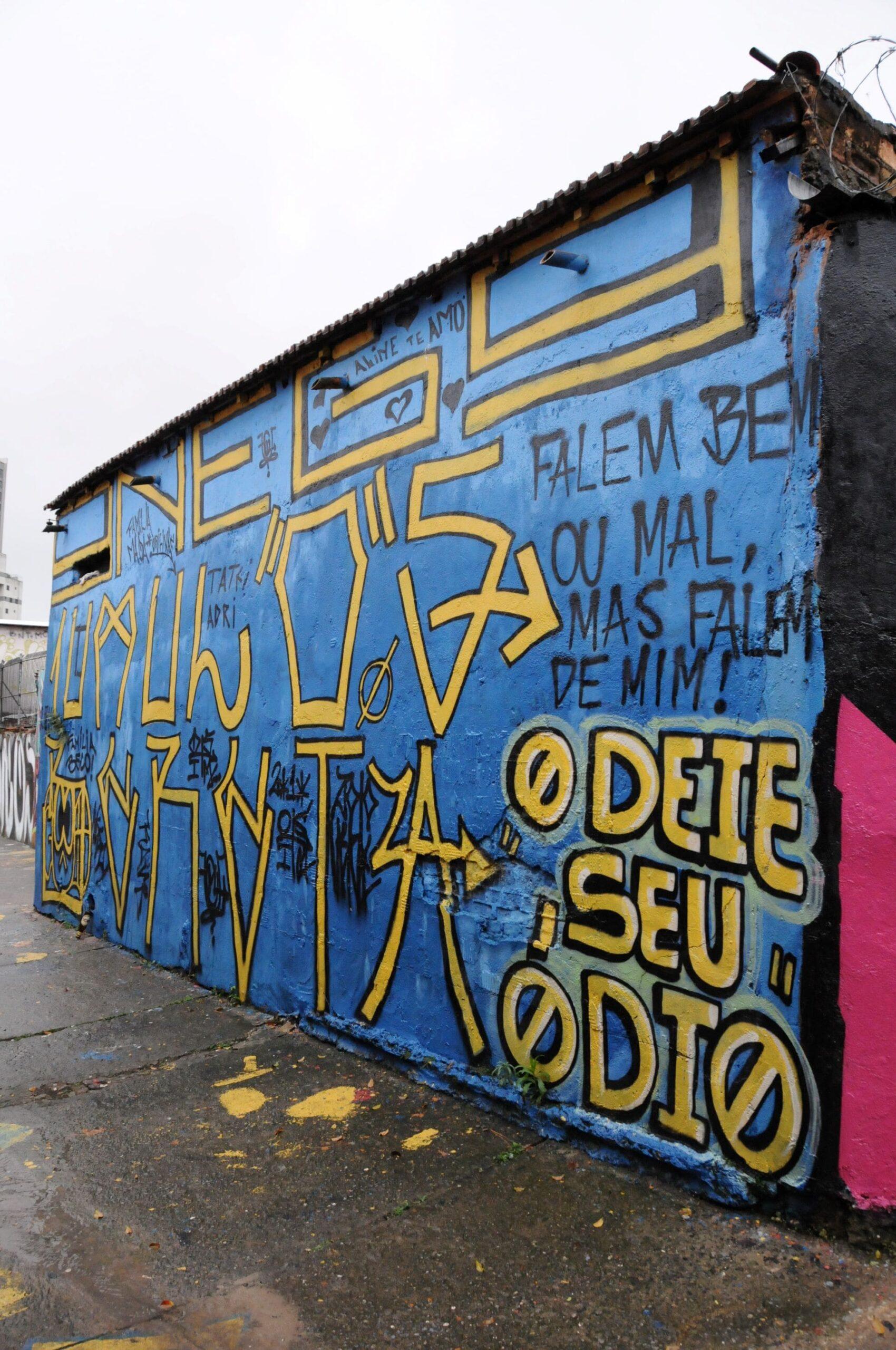 Street Art detail Sao Paulo Tour
