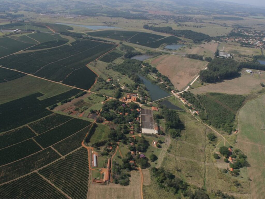 Tour to Coffee Plantation Aerial view