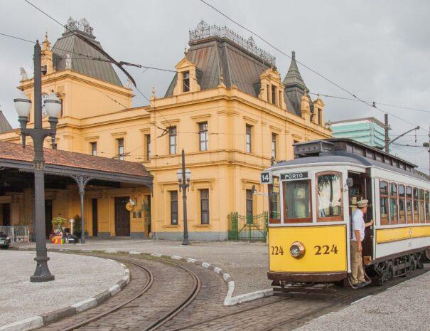 Train Station in Santos Tour