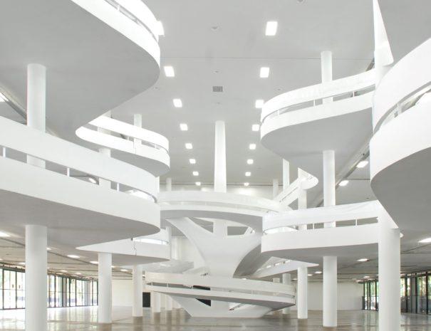bienal building by oscar niemeyer